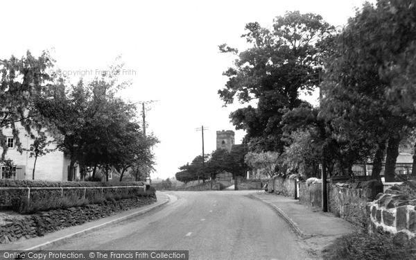 Photo of Willington, Repton Road c.1955
