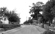 Willington, Repton Road c1955