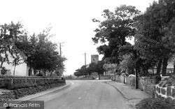 Willington, Repton Road c.1955