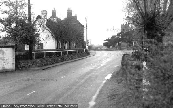Photo of Willington, Repton Road c.1960