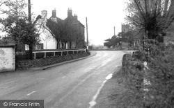 Willington, Repton Road c.1960