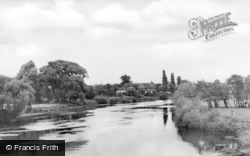 Willington, River Trent c.1950