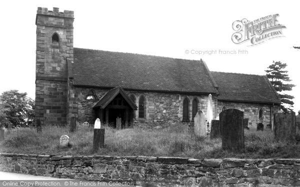 Photo of Willington, St Michael's Church c.1955