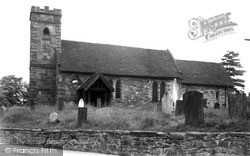 St Michael's Church c.1955, Willington