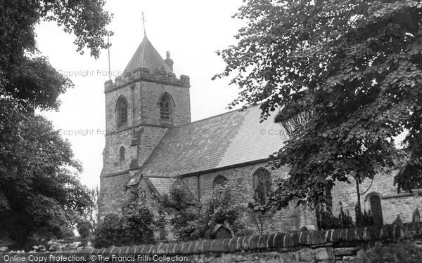 Photo of Willington, St Stephen's Church c.1955