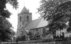 St Stephen's Church c.1955, Willington