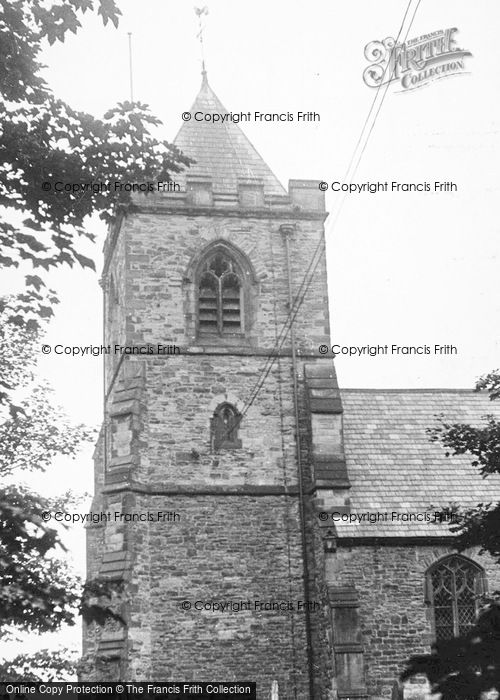 Photo of Willington, The Church c.1955