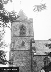 The Church c.1955, Willington