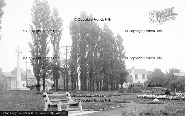 Photo of Willington, The Garden Of Remembrance c.1955