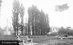 The Garden Of Remembrance c.1955, Willington