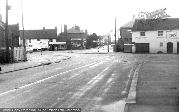 Photo of Willington, The Green c.1955