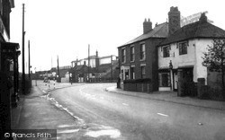 Willington, The Green c.1955