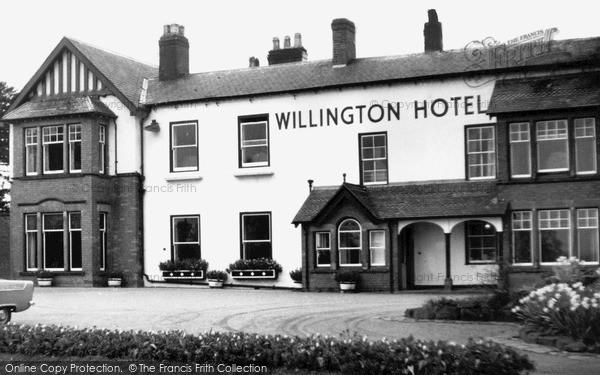 Willington, the Hotel c1960