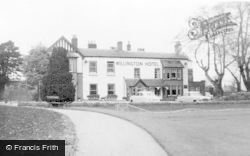 The Hotel c.1960, Willington