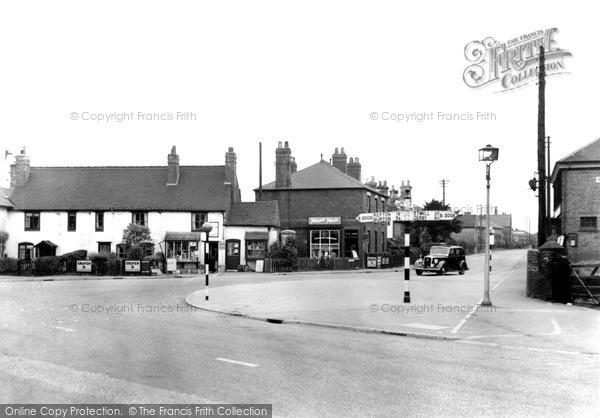 Photo of Willington, The Village c.1950