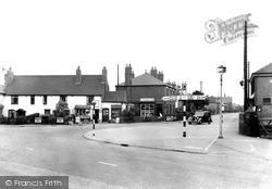 Willington, The Village c.1950
