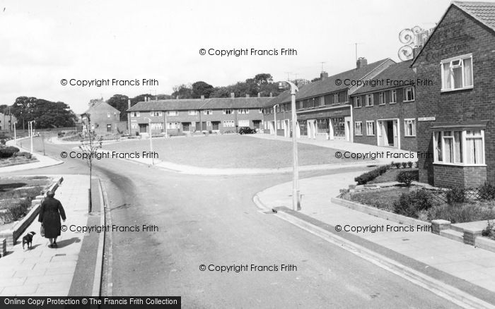 Photo of Willington, Wear Valley Estate c.1955