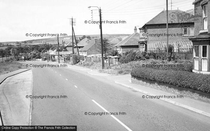 Photo of Willington, West End c.1955