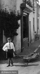 Williton, Boy In North Street 1929