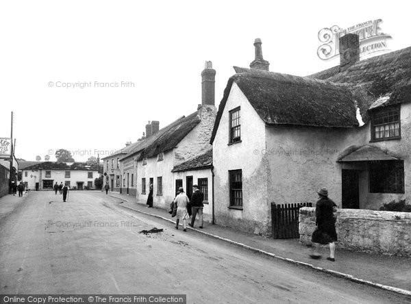 Photo of Williton, Fore Street 1929