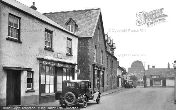 Photo of Williton, Fore Street 1929