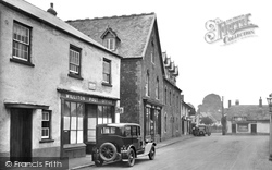 Williton, Fore Street 1929