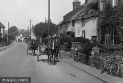 Horse And Cart, Long Street 1929, Williton