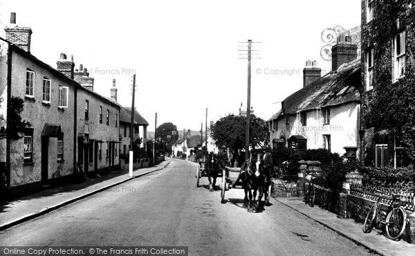 Photo of Williton, Long Street 1929