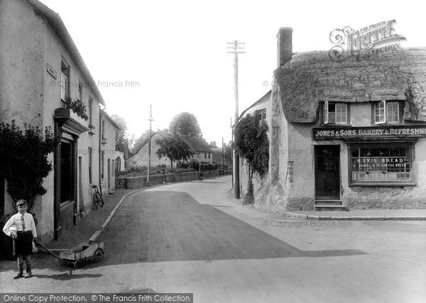 Photo of Williton, North Street 1929