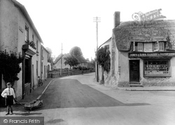 Williton, North Street 1929