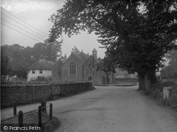 Williton, St Peter's Church 1935