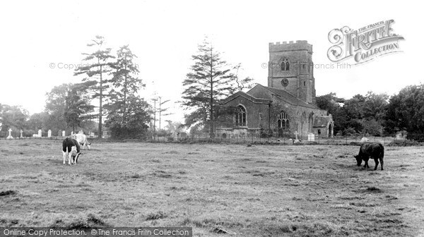 Photo of Willoughby, St Nicolas Church c.1960