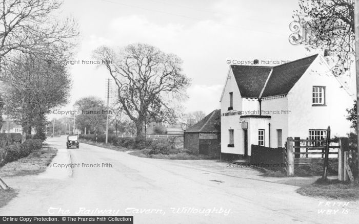 Photo of Willoughby, The Railway Tavern c.1955
