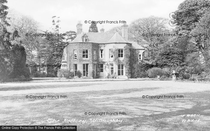 Photo of Willoughby, The Rectory c.1955