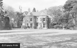 Willoughby, The Rectory c.1955
