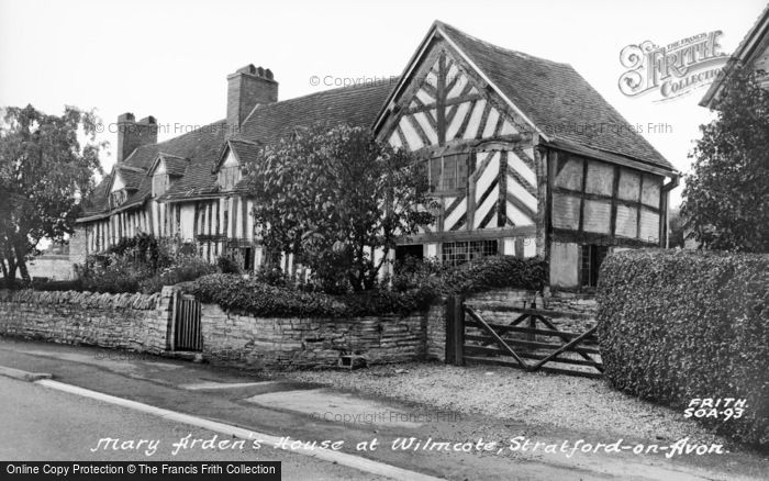 Photo of Wilmcote, Mary Arden's House c.1955
