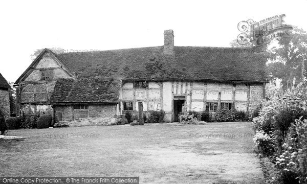 Photo of Wilmcote, Mary Arden's House (Now Palmer's Farm)  c.1955