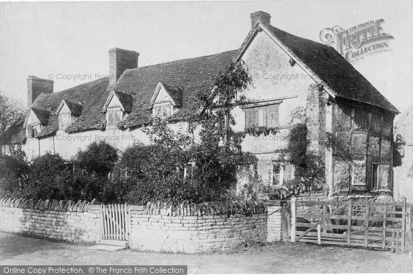 Photo of Wilmcote, Shakespeare's Mother's Cottage (Now Palmer's Farm) c.1880