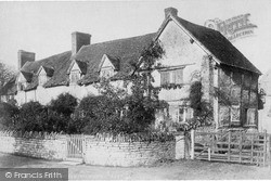 Wilmcote, Shakespeare's Mother's Cottage (Now Palmer's Farm) c.1880