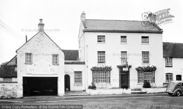 Photo of Wilmcote, Swan Guest House c.1955