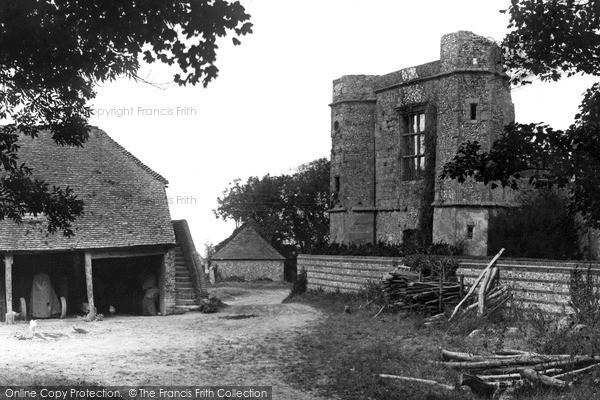 Photo of Wilmington, Priory Ruins c.1950