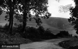 Wilmington, The Long Man c.1950