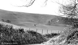 Wilmington, The Long Man c.1960