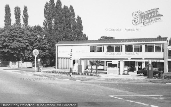 Photo of Wilmslow, Blue Bell Garage c.1965