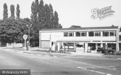 Wilmslow, Blue Bell Garage c.1965