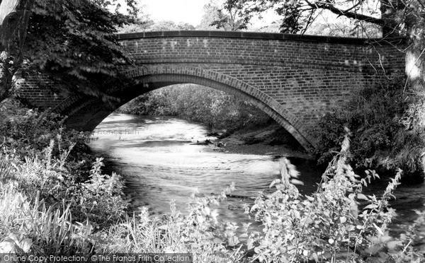 Photo of Wilmslow, Carrs Bridge c.1955