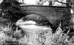 Wilmslow, Carrs Bridge c.1955