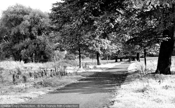 Photo of Wilmslow, Carrs Path c.1955