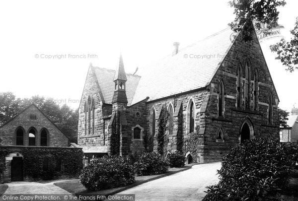 Photo of Wilmslow, Congregational Church 1897