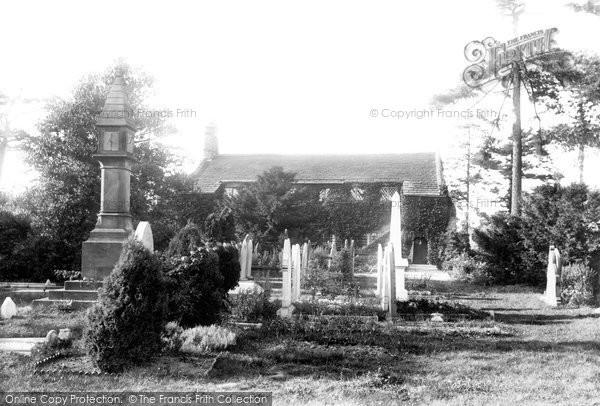 Photo of Wilmslow, Dean Row Chapel 1897